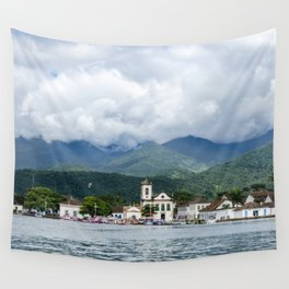 Sea Side -  Paraty - RJ Wall Tapestry