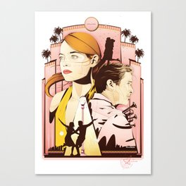 La La Nights Canvas Print
