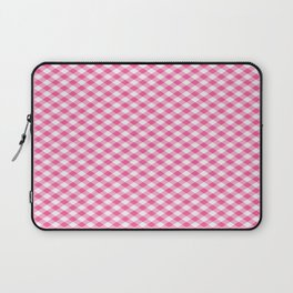 Pink Roses in Anzures 1 Gingham 1 Laptop Sleeve