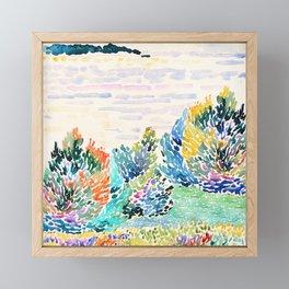 Spring arrived Framed Mini Art Print