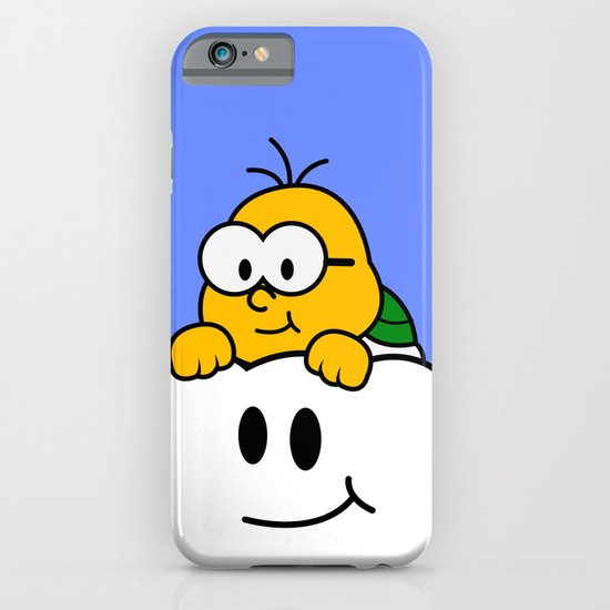 Minimalist Lakitu iPhone & iPod Case