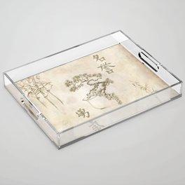 Zen Acrylic Tray