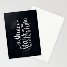 Shine like Stars - Winter Stationery Cards