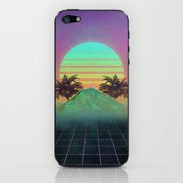 80s love iPhone Skin