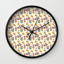 BAKED GOODS Wall Clock