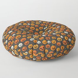 Jack-o-lanterns Floor Pillow