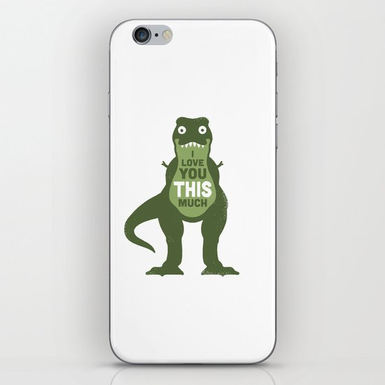 Amourosaurus iPhone & iPod Skin
