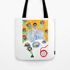Olympia Le-tan Breakfast Tote Bag