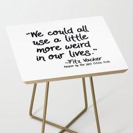 Fan-favorite Fitz Quote Side Table