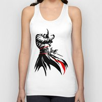 assassins creed Tank Tops featuring Assassins Creed  by iankingart
