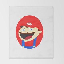 Mischievous Plumber Throw Blanket