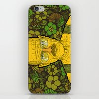 cook iPhone & iPod Skins featuring Cook (green) by Lime