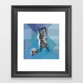 O&P: MC Grizzly Pt.2 - So Grizzly Right Now! Framed Art Print
