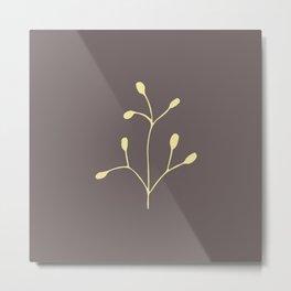Coffee color brach Metal Print