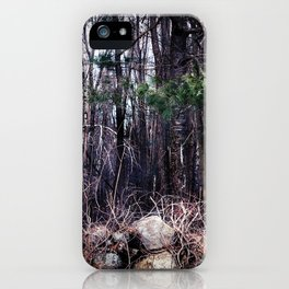 Fallen Birch iPhone Case