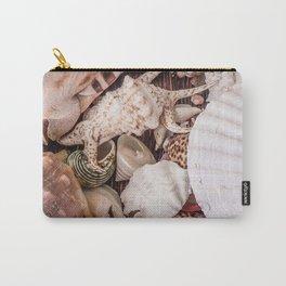 Seashells ocean Carry-All Pouch