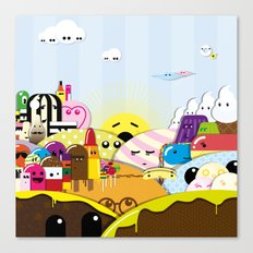 SF Sweet World  Canvas Print