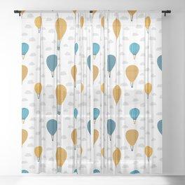 Little explorer patterns Sheer Curtain