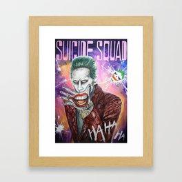 Joker [Suicide Squad] Framed Art Print