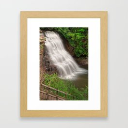 Muddy Creek Falls Framed Art Print