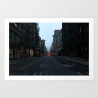 Broadway, Soho Art Print