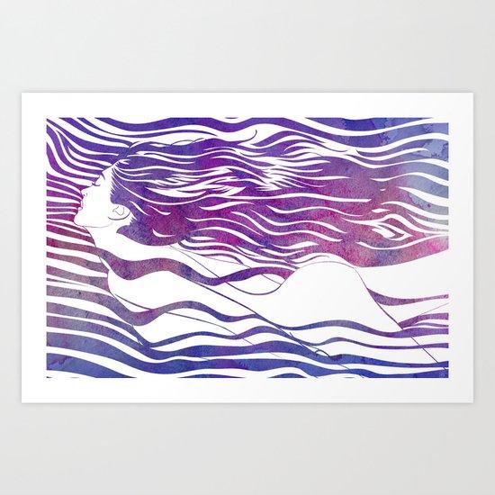 Water Nymph VI Art Print