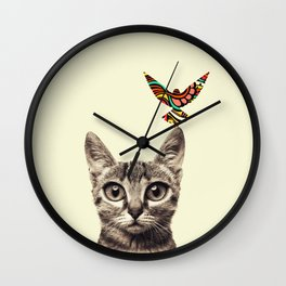 Fascinator Wall Clock