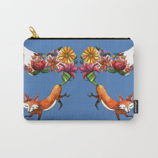 Hunt Flowers Not Foxes Two Carry-All Pouch
