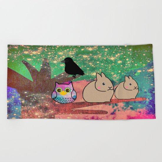 animal-512 Beach Towel