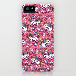 Baby unicorns iPhone Case