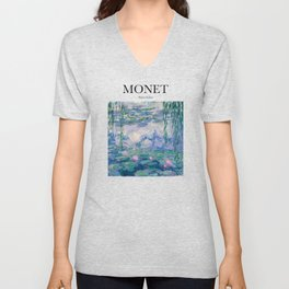 Monet - Water Lilies Unisex V-Neck