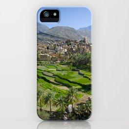 Bilad Sayt Village Oman iPhone Case