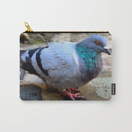 Pigeon in Girona, Spain Carry-All Pouch