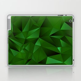 Rough Gems ~ Emerald Laptop & iPad Skin