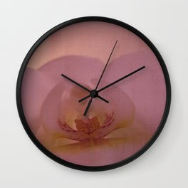 Pink love Wall Clock