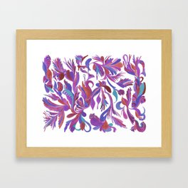 Lilac dream Framed Art Print