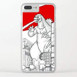 strathcona village attack Clear iPhone Case