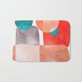 Bridge #abstract #painting Bath Mat