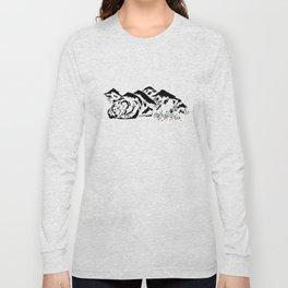 Sleepy Bear Mountain Long Sleeve T-shirt