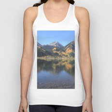 Twin Lakes, CO Unisex Tank Top