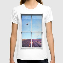 Lavender Fields in Provence  T-shirt
