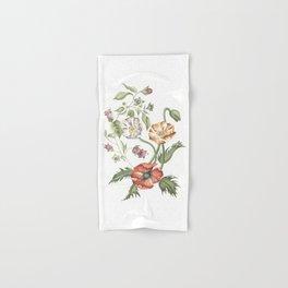 Belladonna and Poppies Hand & Bath Towel