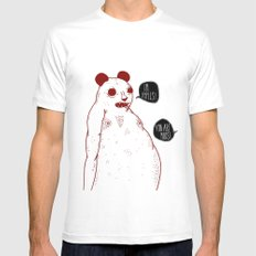 im apples White MEDIUM Mens Fitted Tee