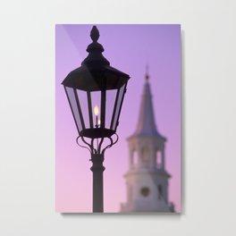 Lantern & Steeple Metal Print