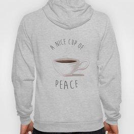 Coffee is Peace Hoody