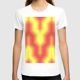 Retro Chevron Sunny T-shirt