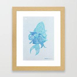 Ornamental Framed Art Print