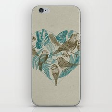 Wild Heart iPhone & iPod Skin
