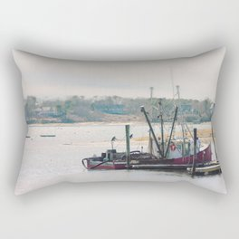 Cape Cod Fishing Boat Rectangular Pillow