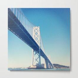 south side, bay bridge Metal Print